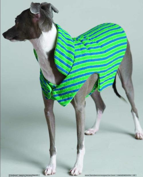 DIY Woven Dog Coat Pet Project Magnificent Dog Jacket Pattern