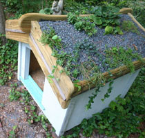 Diy Green Roof Dog House Ii Pet Project