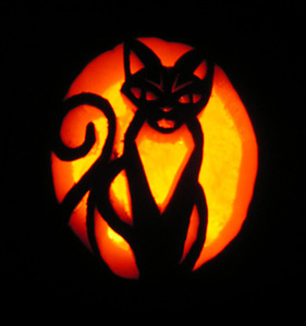Friday Fun: Cat Jack-O-Lanterns – Pet ProjectJack O Lantern Patterns Cat