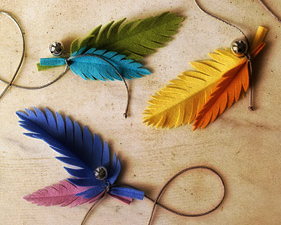 How To Make Cat Feather Toy