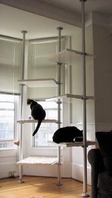 Diy Cat Towers From Ikea S Stolmen Pet Project