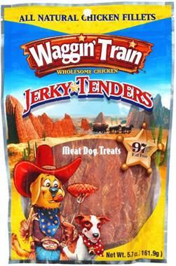 Waggin Train Chicken Jerky Dog Treats Recall